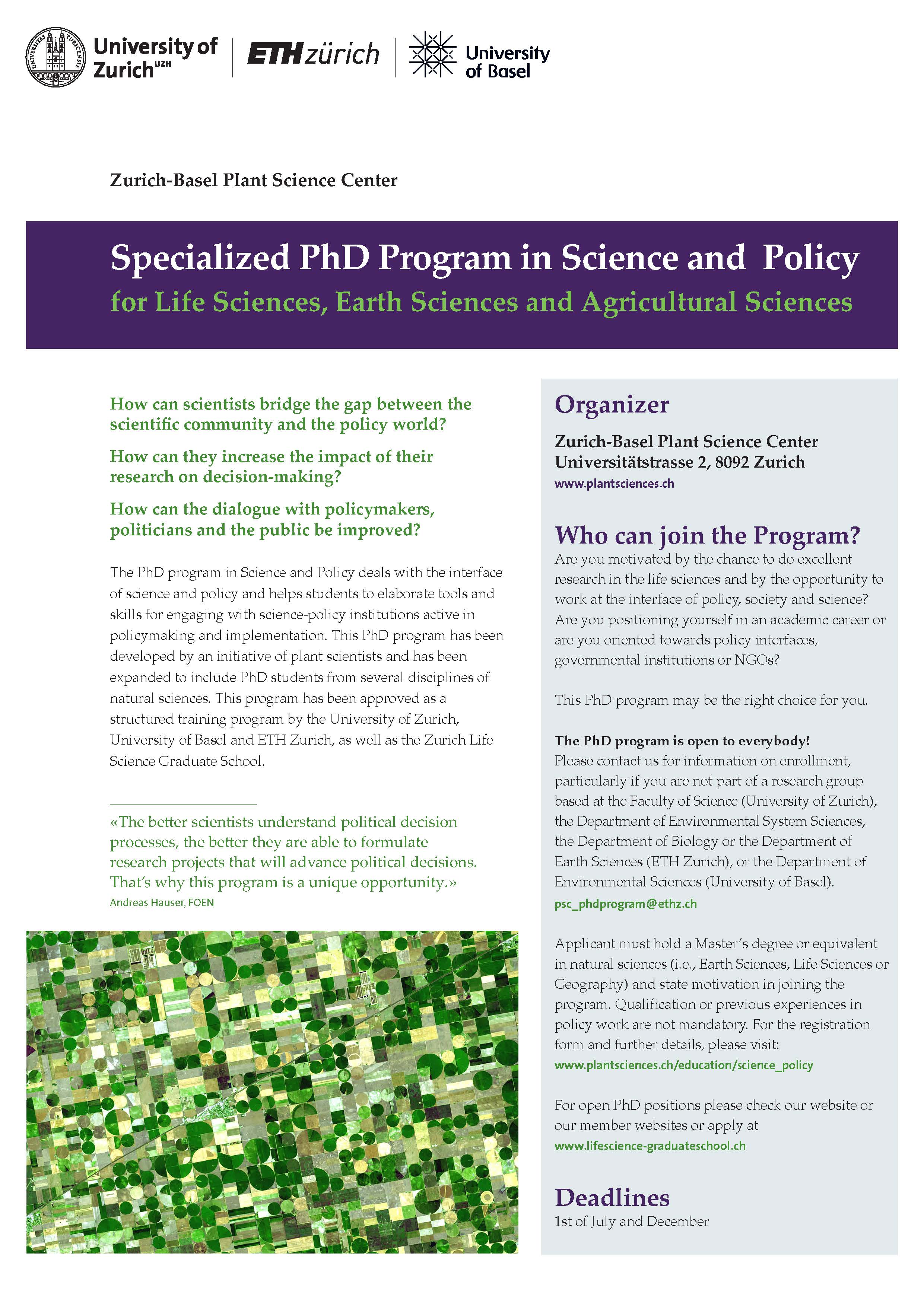 Science and Policy Image