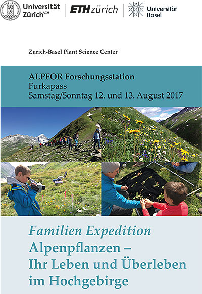 Familien Expedition Furka 2017 flyer