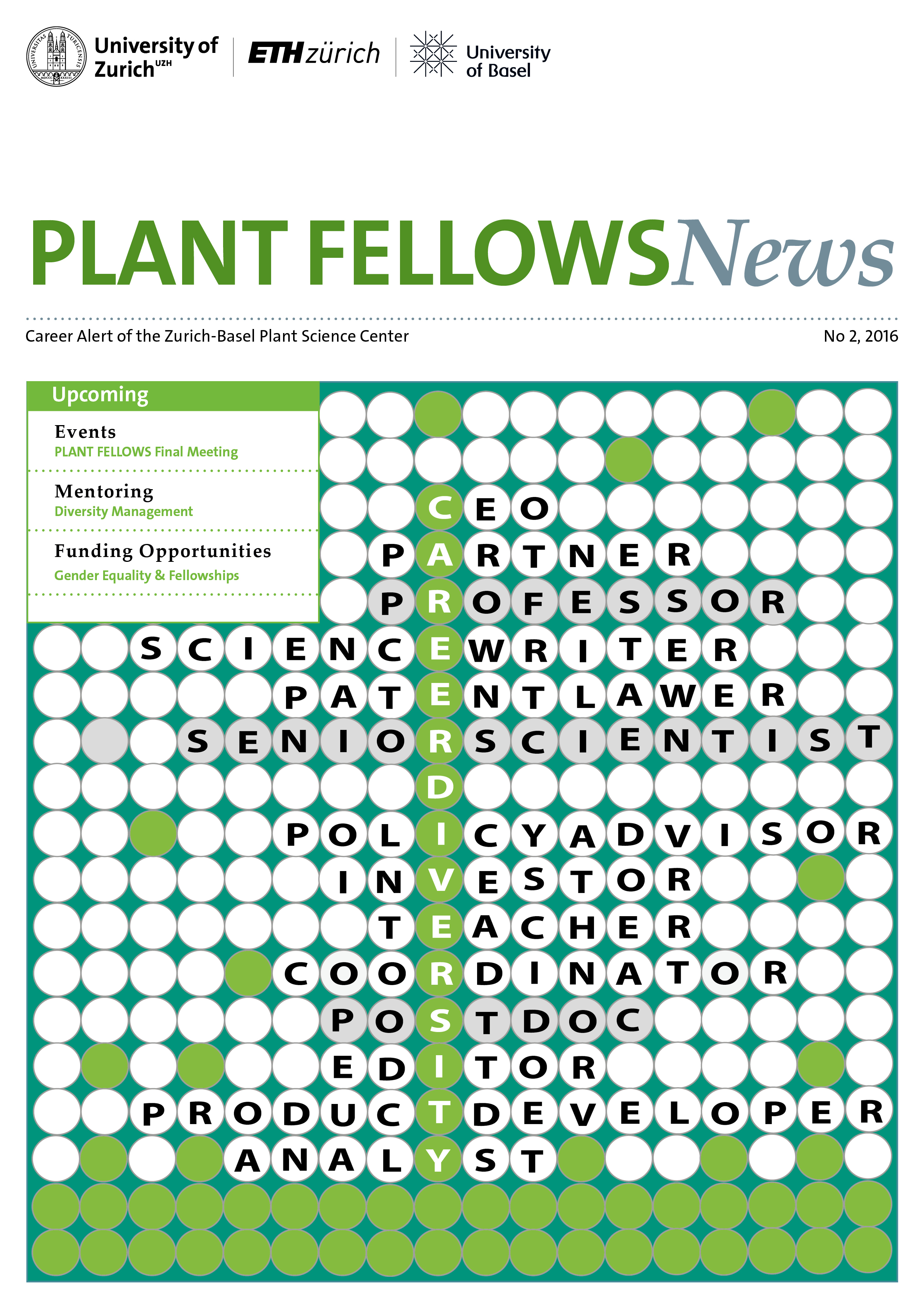 Plant Fellows career alert