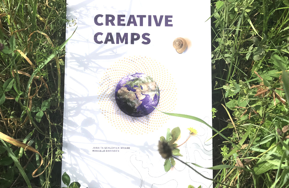 Buch Umschlag Creative Camps
