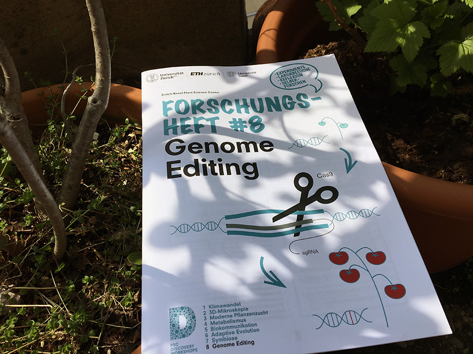 Cover Forschungsheft Genome Editing PSC